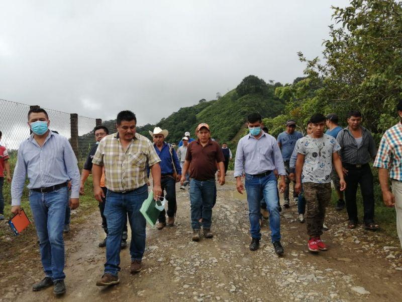 Rehabilitación de tramo de acceso Temango-Jalpa